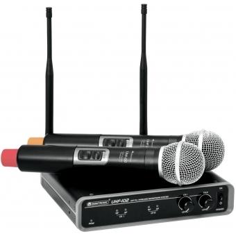 OMNITRONIC UHF-102 Wireless Mic System 828.1/864.8MHz