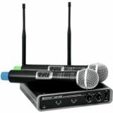 OMNITRONIC UHF-102 Wireless Mic System 830.3/863.8MHz