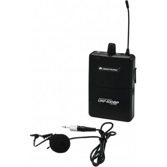 OMNITRONIC UHF-100 BP Bodypack 823.5MHz (pink)