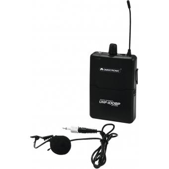 OMNITRONIC UHF-100 BP Bodypack 828.1MHz (red)