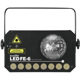 EUROLITE LED FE-6 Hybrid Laser Flower #4