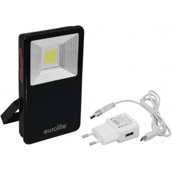 EUROLITE AKKU LED IP FL-10 COB SOS Lamp
