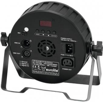 EUROLITE LED SLS-360 UV 36x1W Floor #3