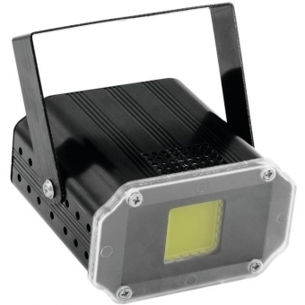 EUROLITE LED Disco Strobe COB white, sound #1