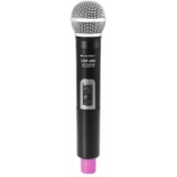 OMNITRONIC UHF-100 Handheld Microphone 823.5MHz (pink)