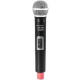 OMNITRONIC UHF-100 Handheld Microphone 828.1MHz (red)