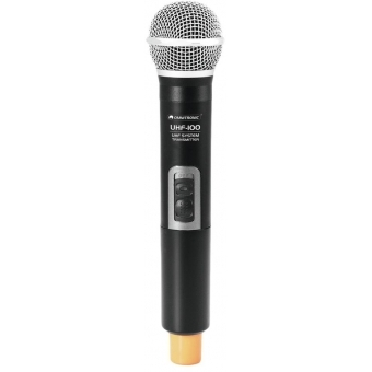 OMNITRONIC UHF-100 Handheld Microphone 864.8MHz (orange)