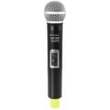OMNITRONIC UHF-100 Handheld Microphone 825.3MHz (yellow)