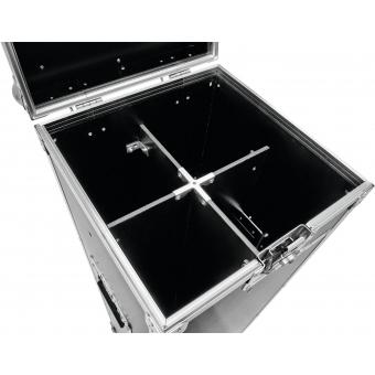 ROADINGER Flightcase 4x Microphone Stand #4