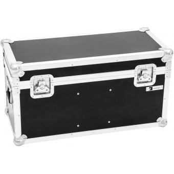 ROADINGER Flightcase 2x LED TMH-X1 Moving-Head Beam