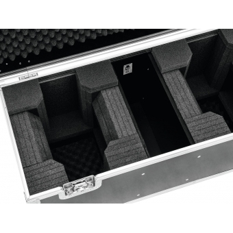 ROADINGER Flightcase 2x LED TMH-X1 Moving-Head Beam #4