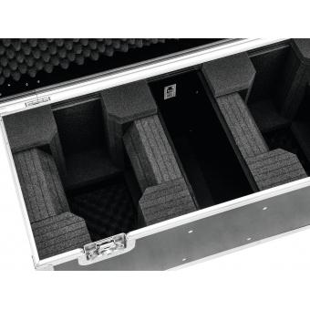 ROADINGER Flightcase 2x LED TMH-X1 Moving-Head Beam #4
