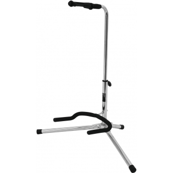 DIMAVERY Guitar Stand silver, ECO