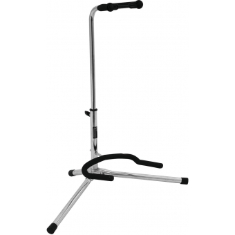 DIMAVERY Guitar Stand silver, ECO #2