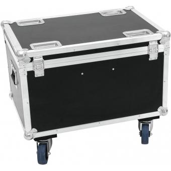 ROADINGER Flightcase 4x LED MFX-3 with wheels #2