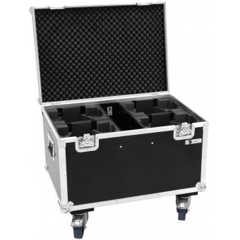 ROADINGER Flightcase 4x LED MFX-3 with wheels #3