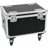 ROADINGER Flightcase 4x LED MFX-3 with wheels