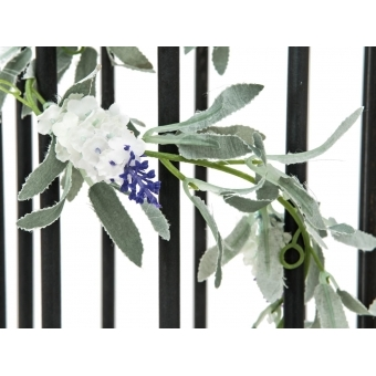 EUROPALMS Flowering Garland, white, 180 cm #2