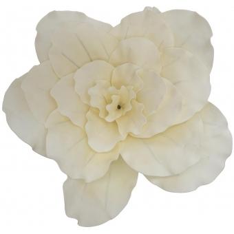 EUROPALMS Giant Flower (EVA), cream white, 80cm #2