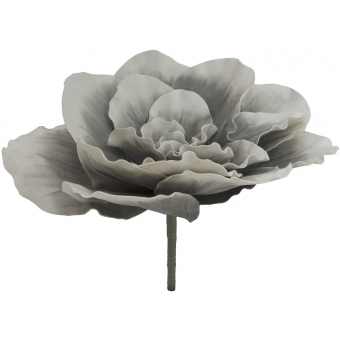 EUROPALMS Giant Flower (EVA), stone grey, 80cm