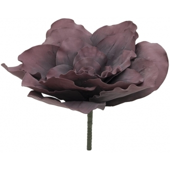 EUROPALMS Giant Flower (EVA), artificial, old rose, 80cm