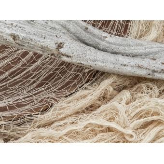 EUROPALMS Deco fabric, broad, beige, 76x500cm #2