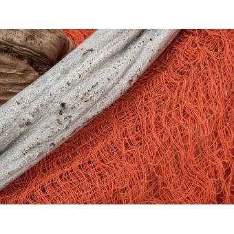 EUROPALMS Deco fabric, broad, orange, 76x500cm #2