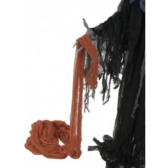 EUROPALMS Deco fabric, broad, orange, 76x500cm #3