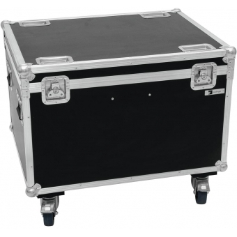 ROADINGER Flightcase 4x LED THA-100F/THA-120PC with wheels