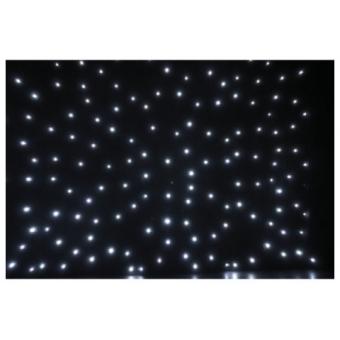 Showtec Plasa LED alb 2x3m incl. controller & geanta