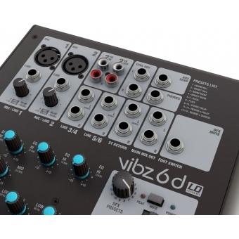 Mixer LD Systems VIBZ 6D 6 canale+DFX #6