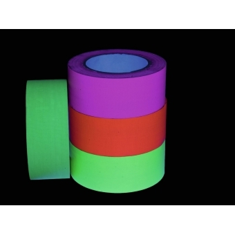 ACCESSORY Gaffa Tape 50mm x 25m neon-yellow uv active #3