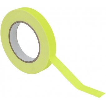 ACCESSORY Gaffa Tape 19mm x 25m neon-yellow UV-active