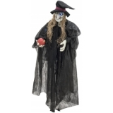EUROPALMS Halloween Witch, black, 170cm