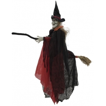 EUROPALMS Halloween witch on departure, 170cm
