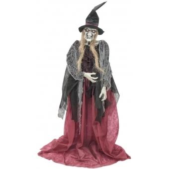 EUROPALMS Halloween witch Ambrosia, 180cm
