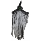 EUROPALMS Halloween Ghost, black, 60cm