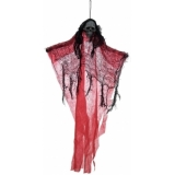 EUROPALMS Halloween Ghost, red, 60cm