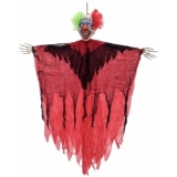 EUROPALMS Halloween Clown, laughing, 120cm
