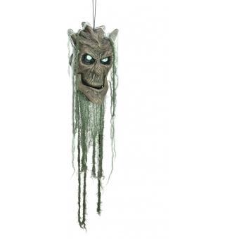 EUROPALMS Talking Spooky Tree Head 40cm