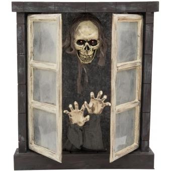 EUROPALMS Halloween Horror Window 85cm