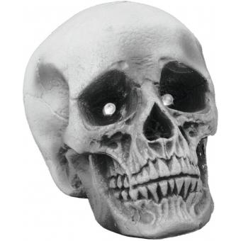EUROPALMS Halloween skull 21x15x15cm LED