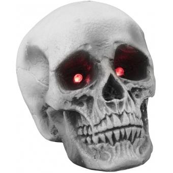 EUROPALMS Halloween skull 21x15x15cm LED #2