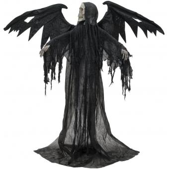 EUROPALMS Halloween Black Angel, 175x100x66cm #2