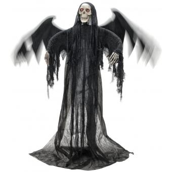 EUROPALMS Halloween Black Angel, 175x100x66cm #3