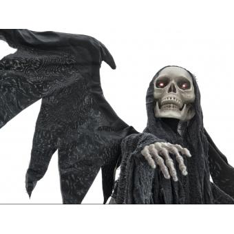 EUROPALMS Halloween Black Angel, 175x100x66cm #4