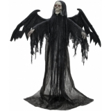 EUROPALMS Halloween Black Angel, 175x100x66cm