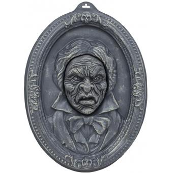 EUROPALMS Halloween Portrait, talking, 49x35x9cm