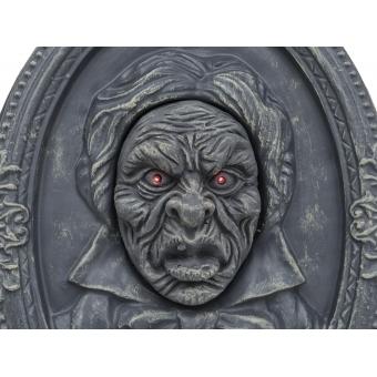 EUROPALMS Halloween Portrait, talking, 49x35x9cm #2