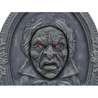 EUROPALMS Halloween Portrait, talking, 49x35x9cm #3
